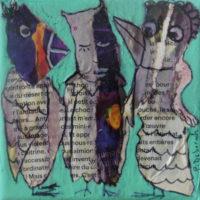 Les noctambules #17, Priscille Deborah, artiste plasticienne expressionniste sensualiste