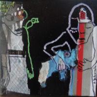 Les noctambules #18, Priscille Deborah, artiste plasticienne expressionniste sensualiste