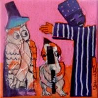 Les noctambules #19, Priscille Deborah, artiste plasticienne expressionniste sensualiste