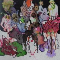 Métissage #35, Priscille Deborah, artiste plasticienne expressionniste sensualiste