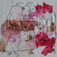 Métissage #36, Priscille Deborah, artiste plasticienne expressionniste sensualiste
