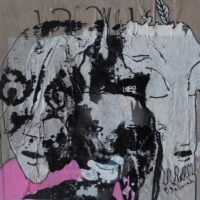 Métissage #37, Priscille Deborah, artiste plasticienne expressionniste sensualiste
