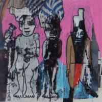 Métissage #39, Priscille Deborah, artiste plasticienne expressionniste sensualiste