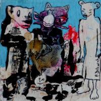 Métissage #47, Priscille Deborah, artiste plasticienne expressionniste sensualiste