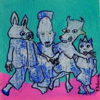 Métissage #48, Priscille Deborah, artiste plasticienne expressionniste sensualiste