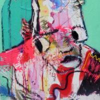 Strangers in paradise #II, Priscille Deborah, artiste plasticienne expressionniste sensualiste