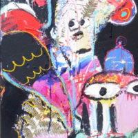 Stranger in paradise #III, Priscille Deborah, artiste plasticienne expressionniste sensualiste
