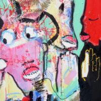 Strangers in paradise #IV, Priscille Deborah, artiste plasticienne expressionniste sensualiste