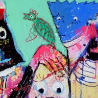 Strangers in paradise #VI, Priscille Deborah, artiste plasticienne expressionniste sensualiste