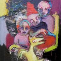 Un dimanche soir sur la terre, Priscille Deborah, artiste plasticienne expressionniste sensualiste