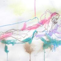 Céleste #VI, Priscille Deborah, artiste plasticienne expressionniste sensualiste