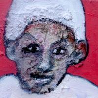 Chérubin #II, Priscille Deborah, artiste plasticienne expressionniste sensualiste