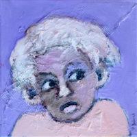 Chérubin #IV, Priscille Deborah, artiste plasticienne expressionniste sensualiste