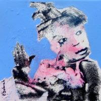 Chic et rebelle #V, Priscille Deborah, artiste plasticienne expressionniste sensualiste