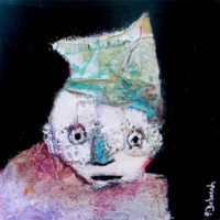 Chic et rebelle #VI, Priscille Deborah, artiste plasticienne expressionniste sensualiste