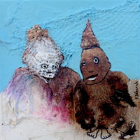 Chic et rebelle #VII, Priscille Deborah, artiste plasticienne expressionniste sensualiste