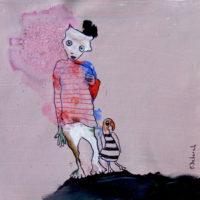 Les aventuriers #5, Priscille Deborah, artiste plasticienne expressionniste sensualiste