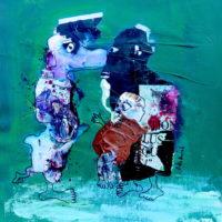 Les sans souci #2, Priscille Deborah, artiste plasticienne expressionniste sensualiste