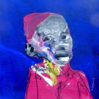 Les sans souci #7, Priscille Deborah, artiste plasticienne expressionniste sensualiste