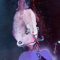 Les voltigeurs #10, Priscille Deborah, artiste plasticienne expressionniste sensualiste