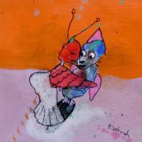 Les voltigeurs #2, Priscille Deborah, artiste plasticienne expressionniste sensualiste