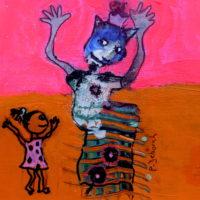 Les voltigeurs #4, Priscille Deborah, artiste plasticienne expressionniste sensualiste