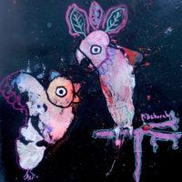Les voltigeurs #5, Priscille Deborah, artiste plasticienne expressionniste sensualiste