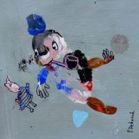 Les voltigeurs #7, Priscille Deborah, artiste plasticienne expressionniste sensualiste