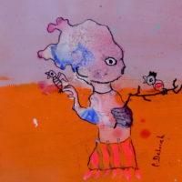 Les voltigeurs #9, Priscille Deborah, artiste plasticienne expressionniste sensualiste