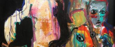 Chat perché, Priscille Deborah, artiste plasticienne expressionniste sensualiste